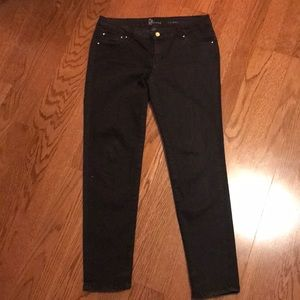Black straight leg jeans very comfortable and cute